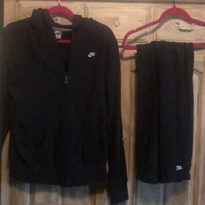 Nike Sweatsuit Zipper Hoody and Sweatpants large